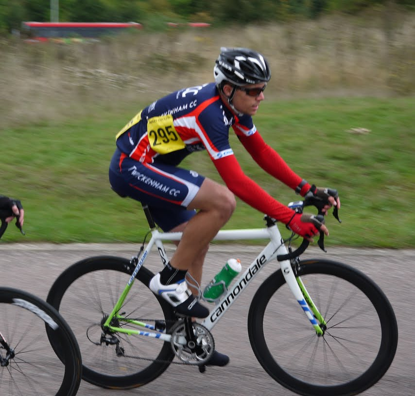 Ben at a Road Race in Hillingdon